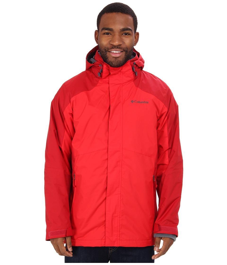 Columbia - Eager Air Interchange Jacket (Rocket/Bright Red) Men's Coat
