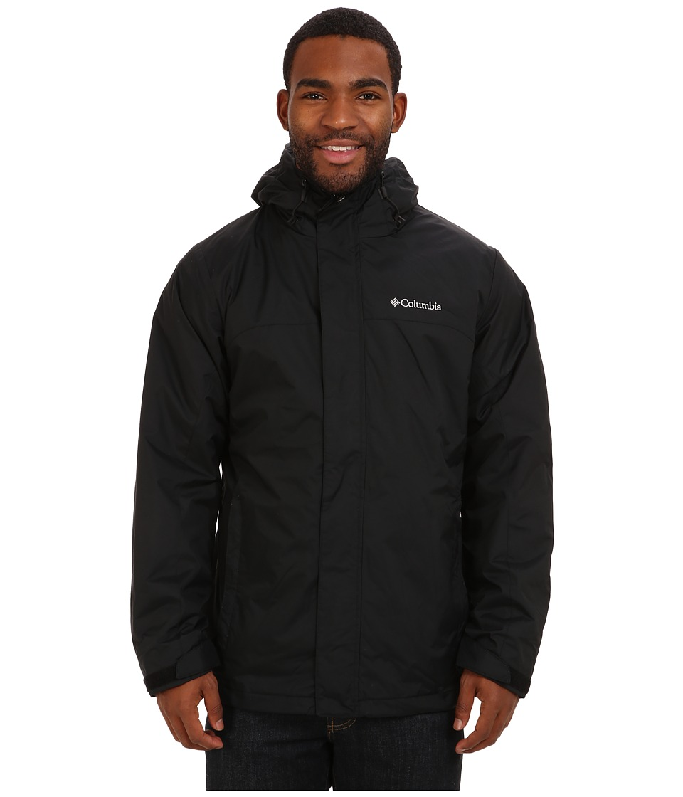 Columbia - Nordic Cold Fronttm Interchange Jacket (Black) Men's Coat