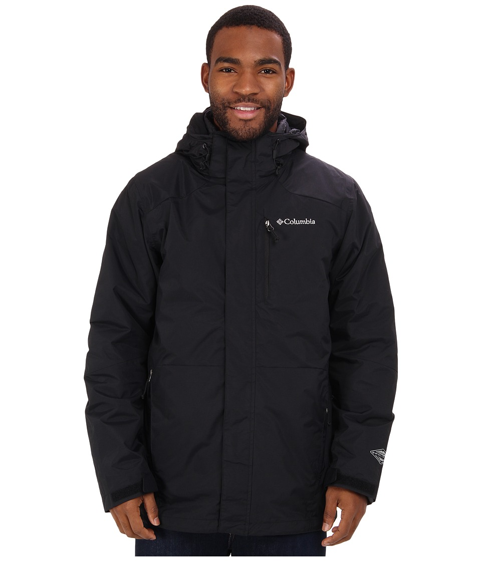 Columbia - Element Blocker Interchange Jacket (Black) Men's Coat