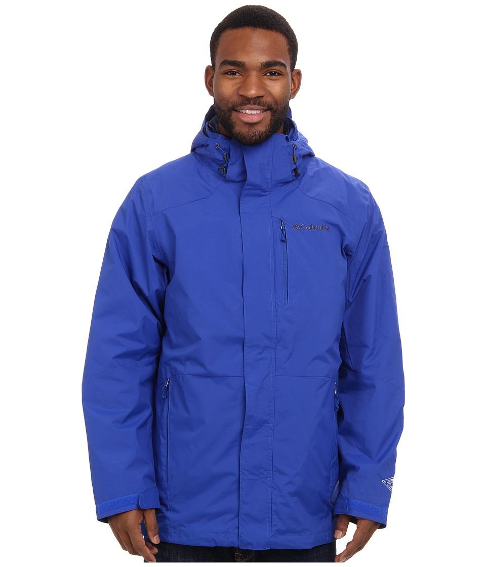 Columbia - Element Blocker Interchange Jacket (Azul) Men's Coat