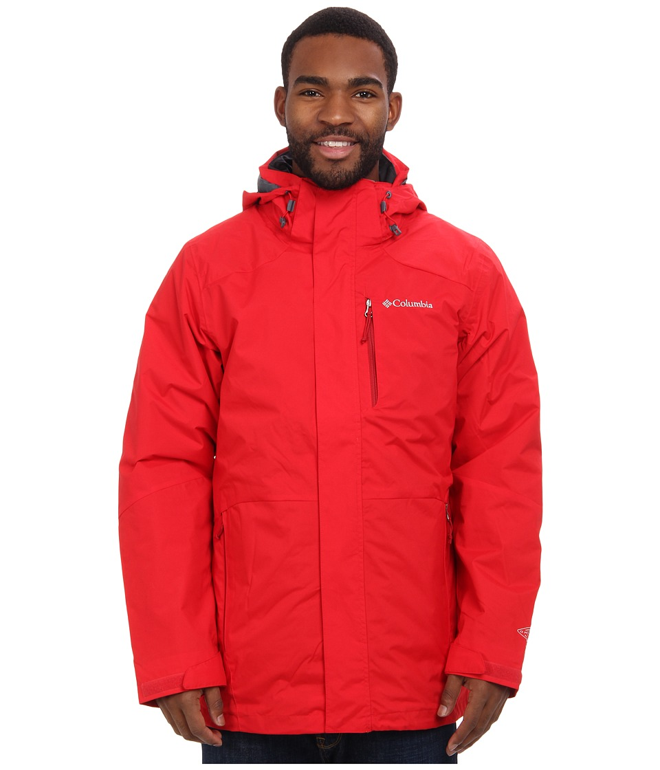 Columbia - Element Blocker Interchange Jacket (Bright Red) Men's Coat