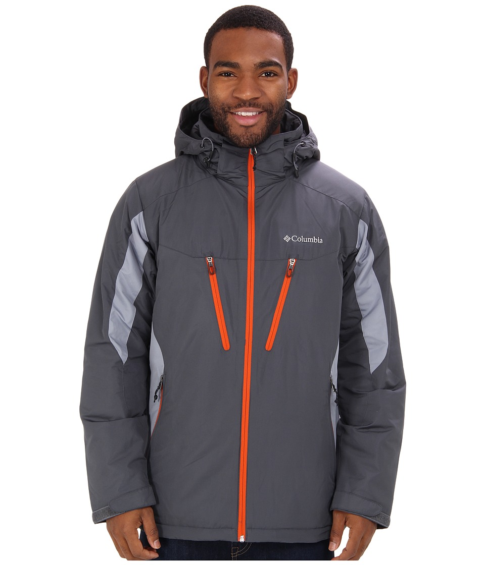 Columbia - Antimony IV Jacket (Graphite, Tradewinds) Men's Coat