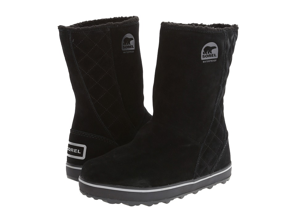 SOREL - Glacy (Black) Women's Cold Weather Boots