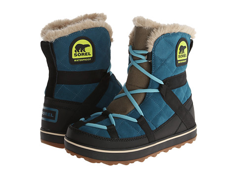 SOREL - Glacy Explorer Shortie (Deep Water) Women