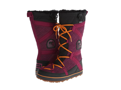 SOREL - Glacy Explorer (Vino) Women's Cold Weather Boots