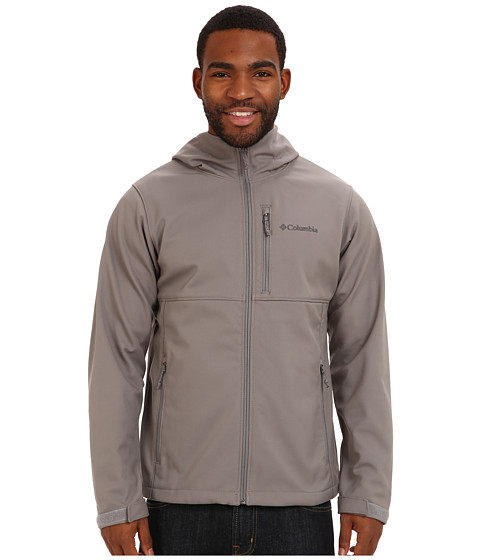 Columbia - Ascender Hooded Softshell Jacket (Boulder) Men's Coat