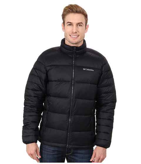 Columbia - Frost Fighter Jacket (Black) Men's Coat