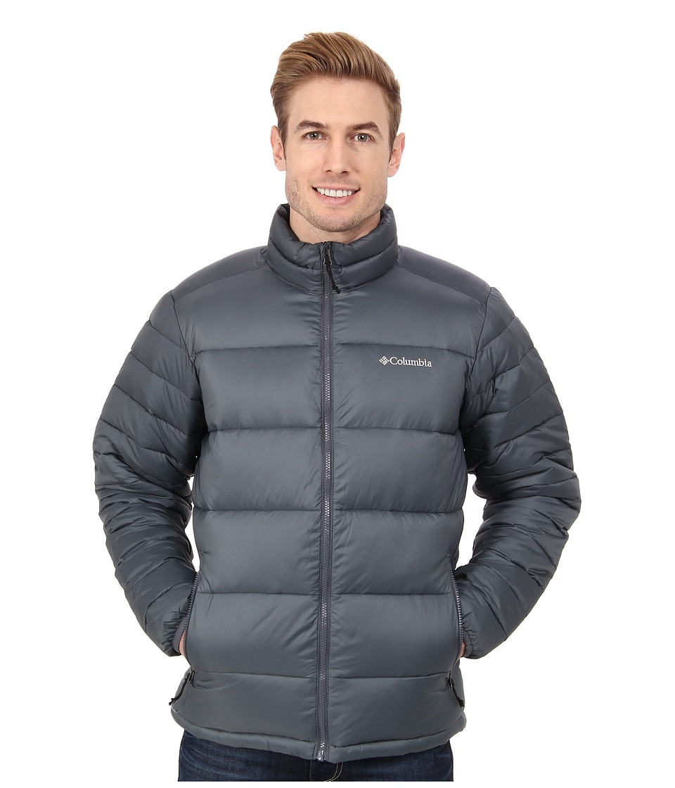 Columbia - Frost Fighter Jacket (Graphite) Men's Coat