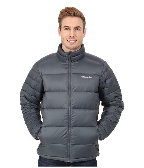 Columbia - Frost Fighter Jacket (Graphite) Men's Coat