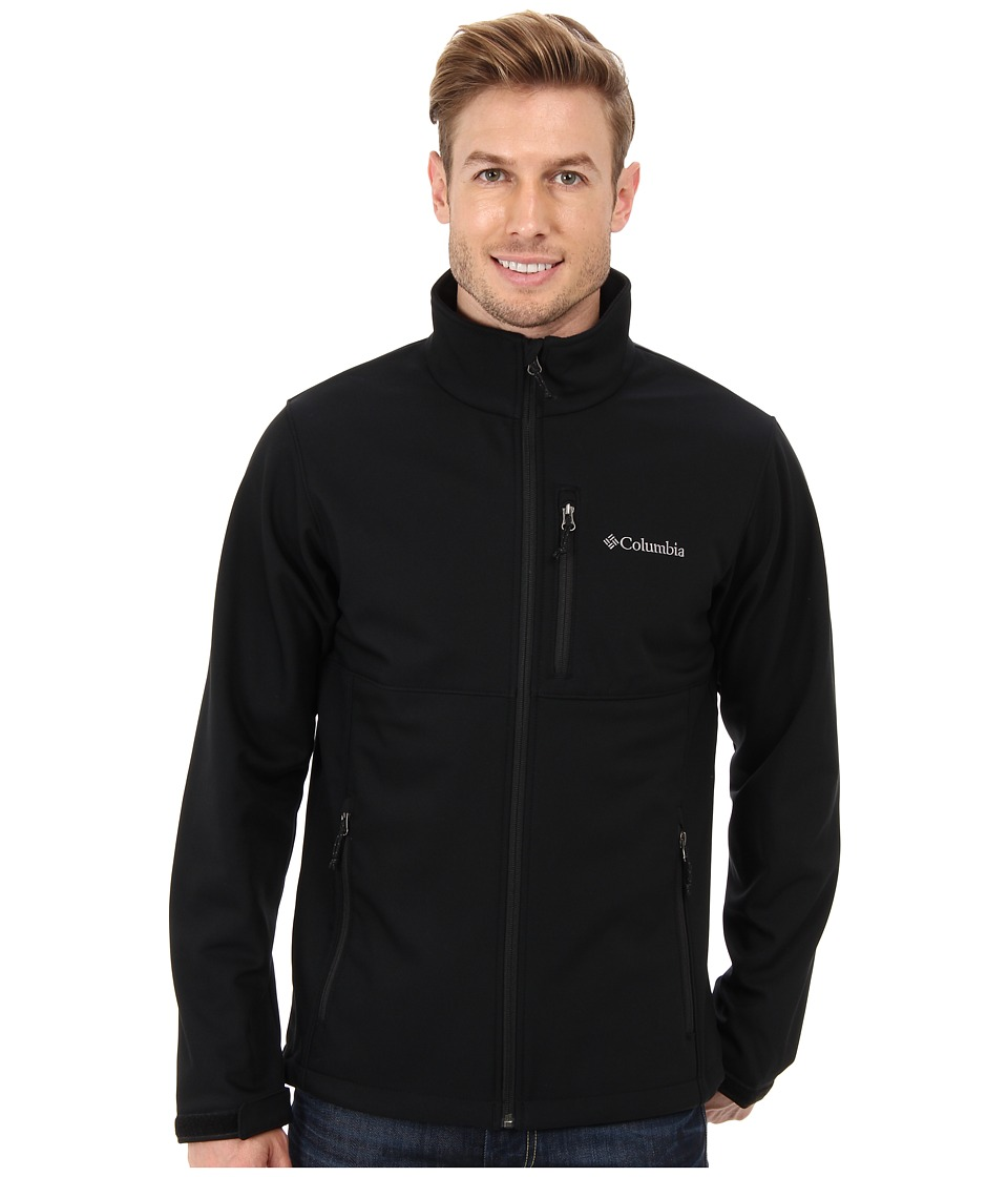 Columbia - Ascender Softshell Jacket (Black) Men's Coat