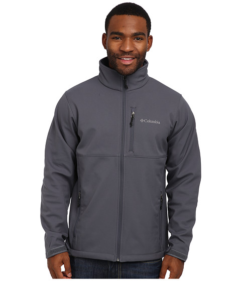 Columbia - Ascender Softshell Jacket (Graphite) Men's Coat