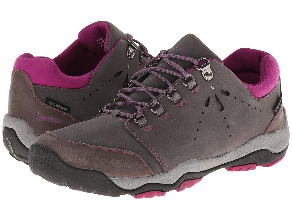 Jambu - Tuscany - Hyper Grip (Charcoal/Raspberry) Women's Shoes
