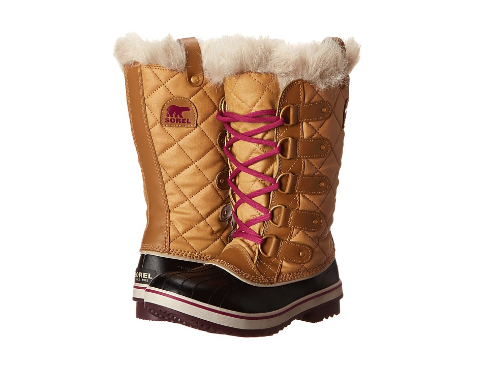 SOREL - Tofino Cate (Curry/Red Plum) Women