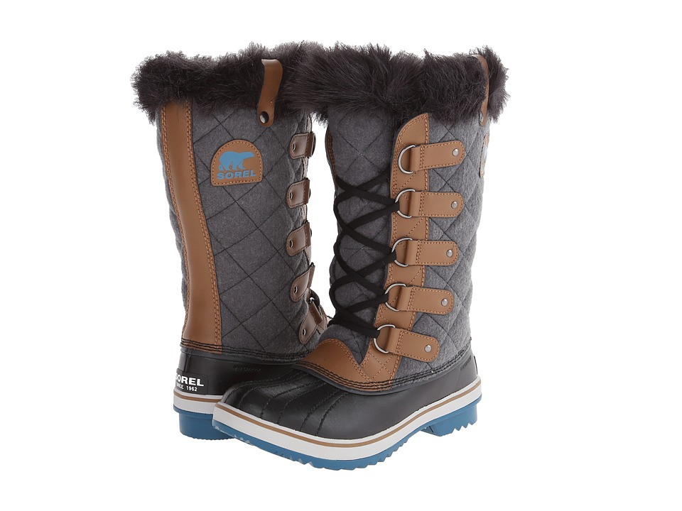 SOREL - Tofino Cate (Grizzly Bear/Sierra) Women's Cold Weather Boots
