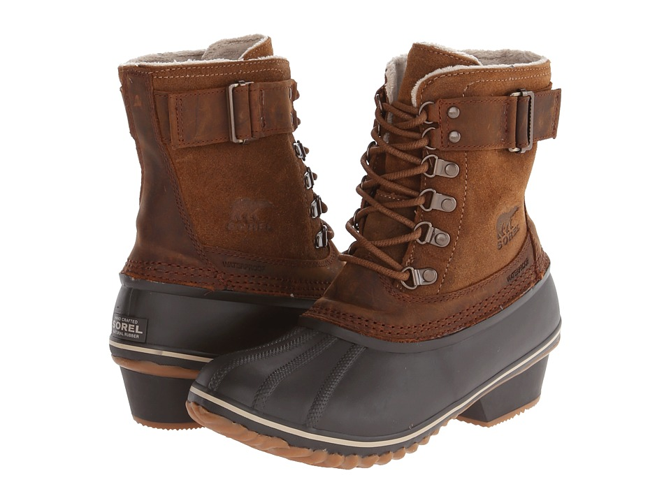 SOREL Winter Fancytm Lace II (Elk/Grizzly Bear) Women