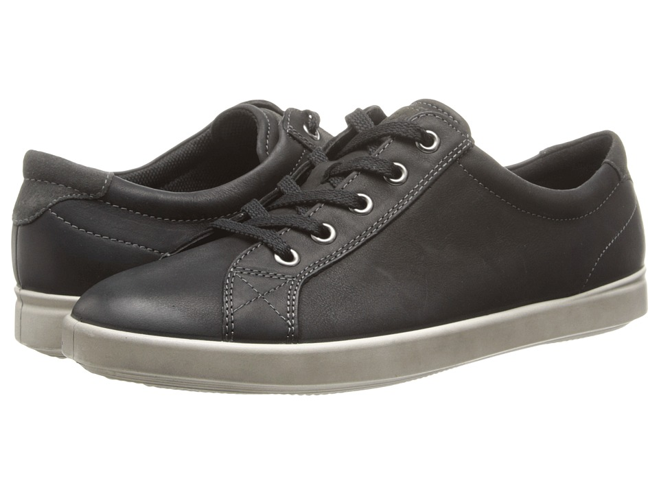 ECCO - Aimee (Black/Dark Shadow) Women's Lace up casual Shoes