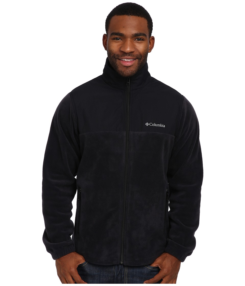 Columbia - Steens Mountain Tech II Full Zip (Black) Men's Coat