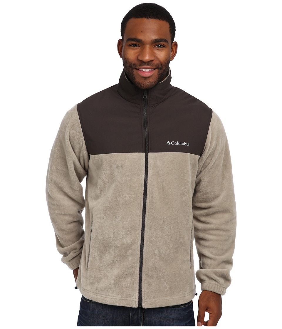 Columbia - Steens Mountain Tech II Full Zip (Tusk) Men's Coat
