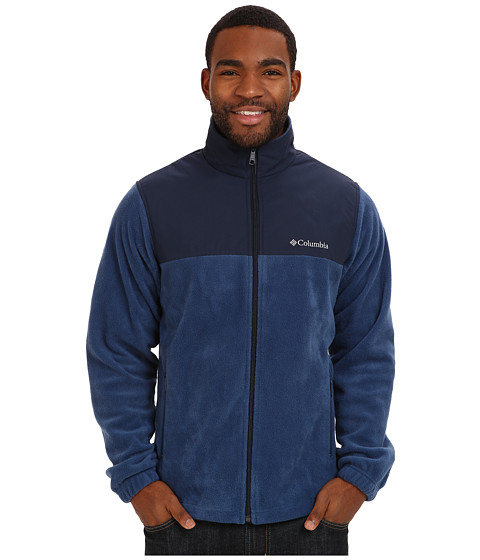 Columbia - Steens Mountain Tech II Full Zip (Carbon) Men