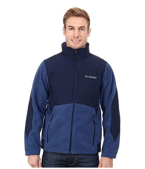 Columbia - Ballistic III Fleece Jacket (Collegiate Navy) Men