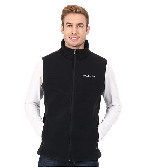 Columbia - Ballistic Fleece Vest (Black) Men's Vest