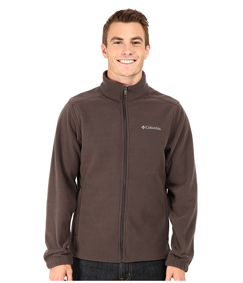 Columbia - Crater Peak II Full-Zip Fleece (Buffalo Heather) Men
