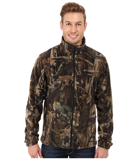Columbia - Steens Mountain Print Jacket (Timberwolf Print) Men