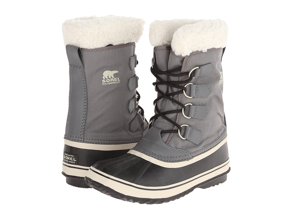 SOREL - Winter Carnival (Pewter/Black/Metal Crush/Nappa Wax) Women
