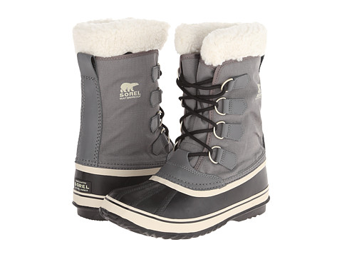 SOREL - Winter Carnival (Pewter/Black/Metal Crush/Nappa Wax) Women's Cold Weather Boots