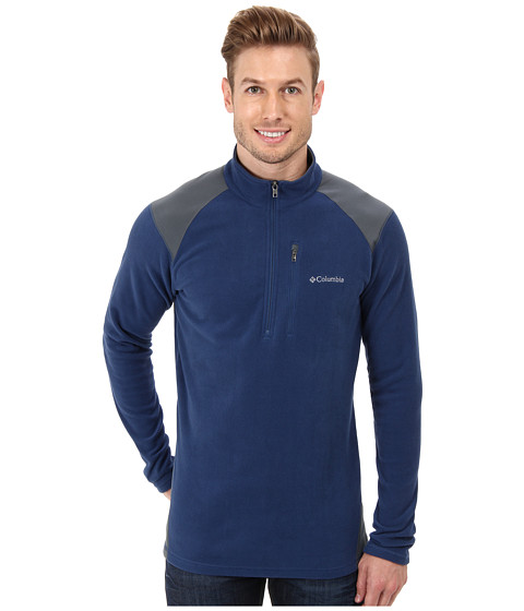 Columbia - Elevator Shaft Hybrid Half Zip (Carbon/Graphite) Men