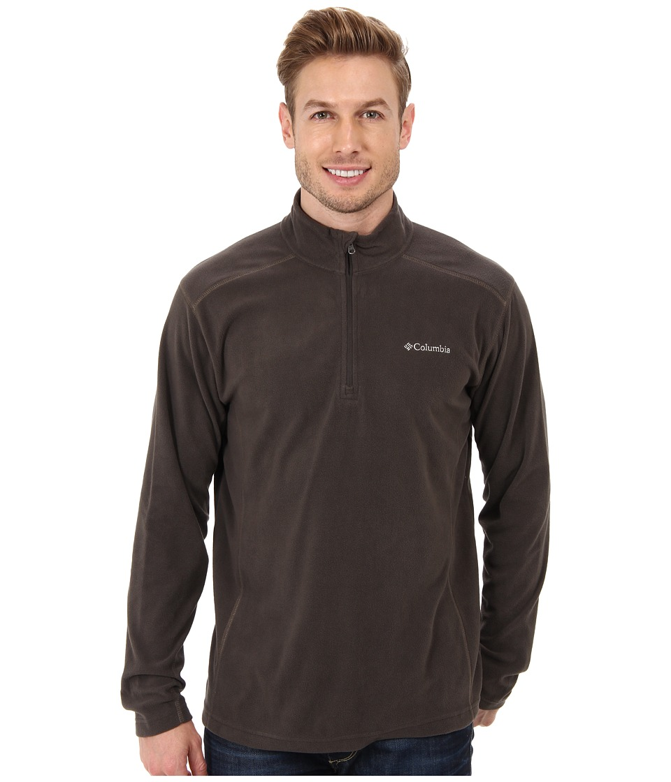 Columbia - Klamath Rangetm II Half Zip (Buffalo) Men's Long Sleeve Pullover