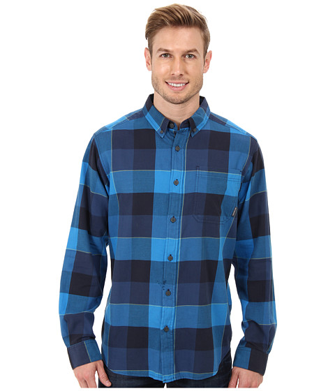 Columbia - Out and Back II Long-Sleeve Shirt (Hyper Blue Twill) Men's Long Sleeve Pullover