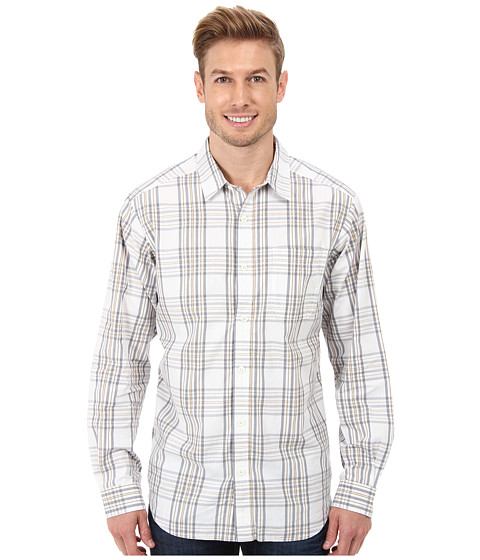 Columbia - Vapor Ridge III Long-Sleeve Shirt (White Check) Men's Long Sleeve Pullover