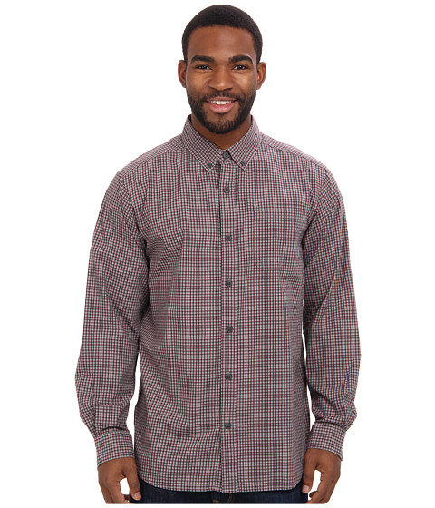 Columbia - Rapid Rivers II Long-Sleeve Shirt (Boulder Mini Check) Men's Long Sleeve Pullover