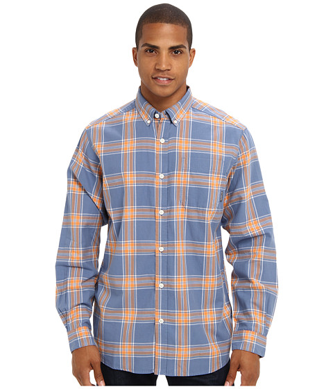 Columbia - Rapid Rivers II Long-Sleeve Shirt (Blue Dusk Plaid) Men