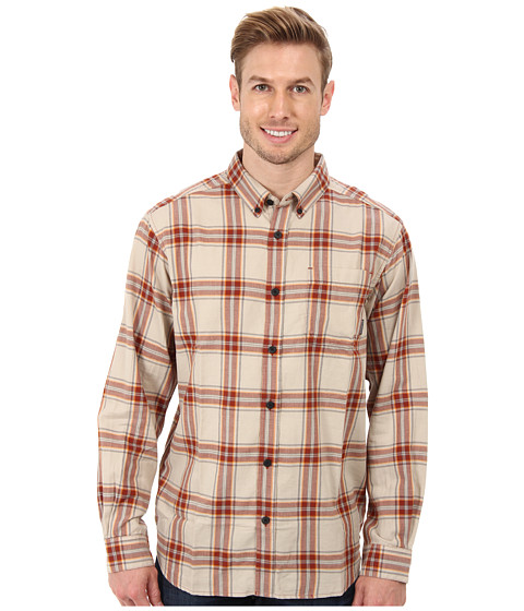 Columbia - Rapid Rivers II Long-Sleeve Shirt (Rusty Plaid) Men's Long Sleeve Pullover