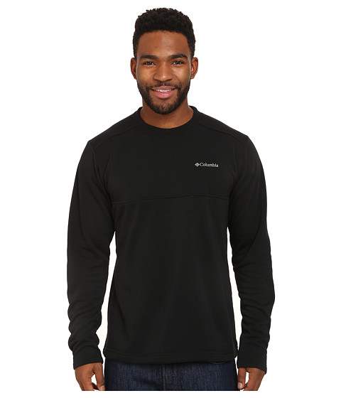 Columbia - Hard Edge II Crew (Black) Men's Clothing