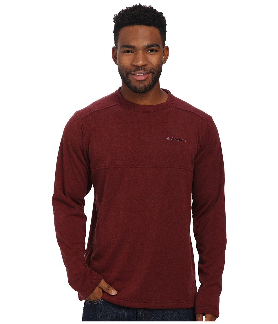 Columbia - Hard Edge II Crew (Red Element) Men's Clothing