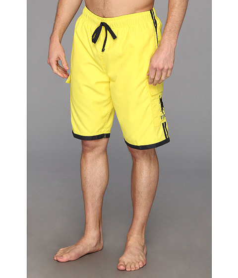 U.S. POLO ASSN. - 11 Side Stripe Cargo BP (Laser Yellow) Men