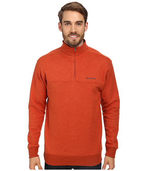 Columbia - Hart Mountain II Half Zip (Flame) Men