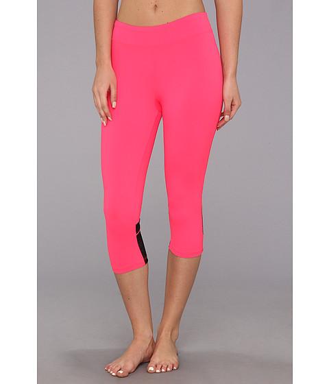 Fila - Lacy Capri (Diva Pink/Black) Women's Capri