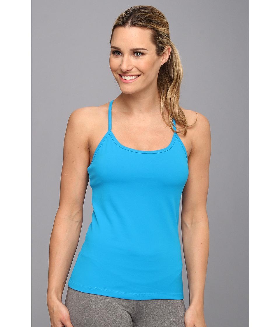 Fila - Lux Cami Tank (Methyl Blue/Nude) Women's Sleeveless