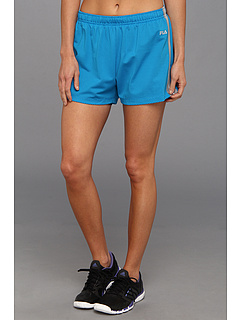 SALE! $25 - Save $25 on Fila Parallax Double Layer Short (Methyl Blue Peacoat) Apparel - 50.00% OFF $50.00