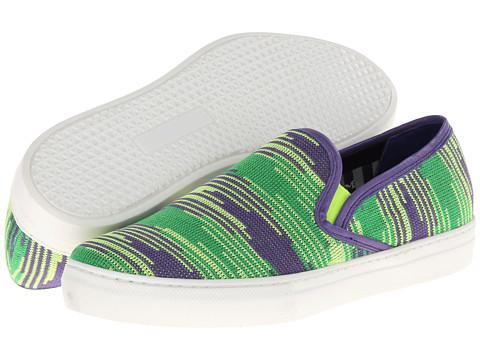 M Missoni - Spacedye Sneaker (Chartreuse) Women