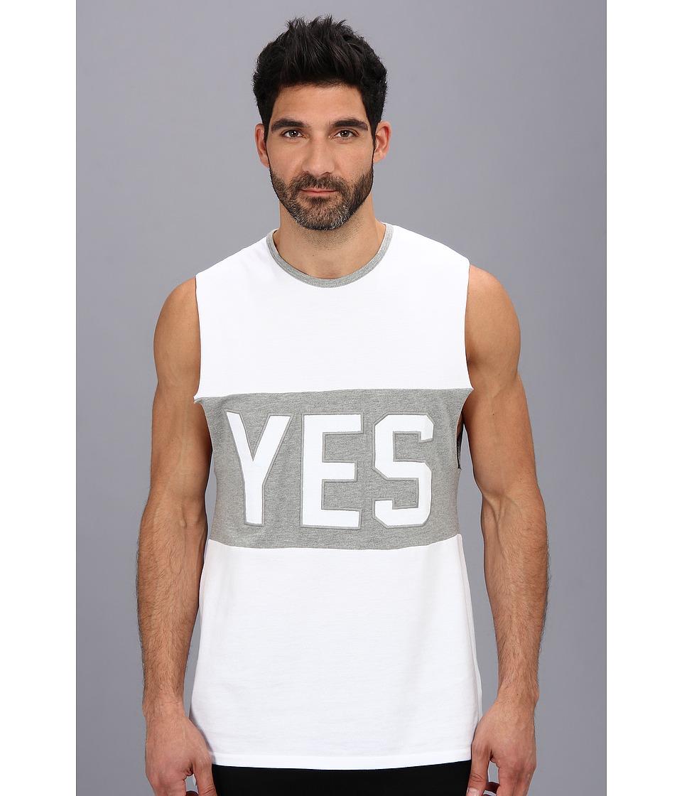 Zanerobe - Yes Campaigner Muscle Tank (White) Men