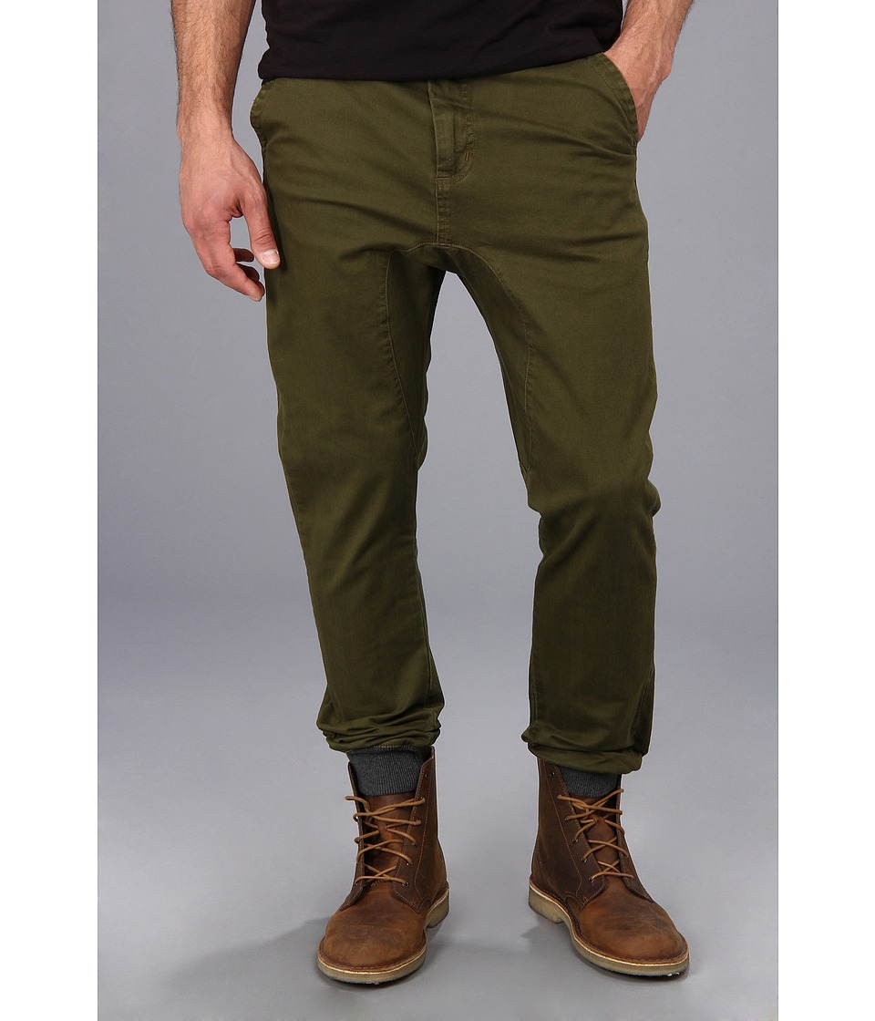 Zanerobe - Dynamo Chino Pant (Military Green) Men's Casual Pants