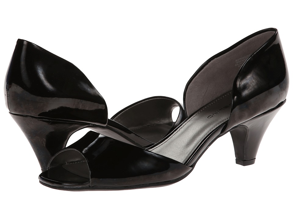 Bandolino - Primacera (Black Synthetic) Women's 1-2 inch heel Shoes
