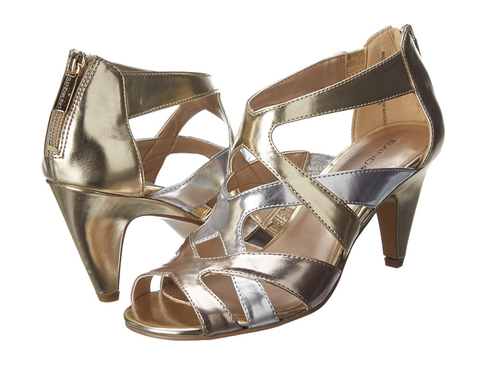 Bandolino Daenyn (Gold Multi Synthetic) High Heels