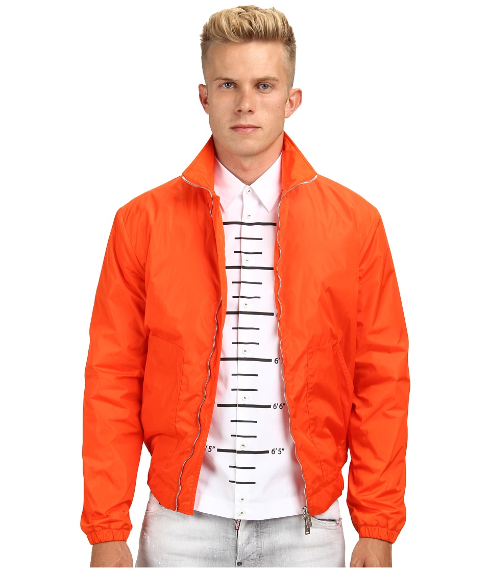 DSQUARED2 - Nylon Jacket (Orange) Men's Coat