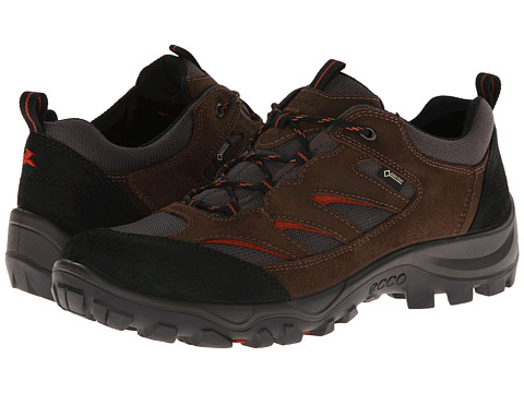 ECCO Sport - Drak Semi Mid GTX (Black/Birch/Mole Scar/Oil Suede/Textile) Men's Shoes